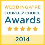 Wedding Wire Couples' Choice Award 2014