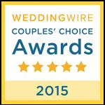 Wedding Wire Couples' Choice Award 2015