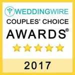 Wedding Wire Couples' Choice Award 2017