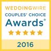 WeddingWire Award 2016