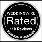 WeddingWire rated 110 reviews